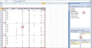 pivot table exle download pivot table excel template invitation template