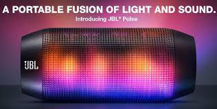 Party Speakers With Lights Jbl Pulse Wireless Portable Speaker Lights Up A Party U2014 Gadgetmac