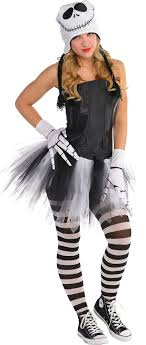 skellington costume women s sassy skellington costume accessories party city