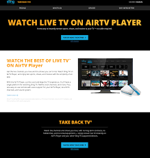 Sling Tv Logo Png Sling Tv Set To Debut The Airtv Player Which Combines Local