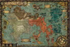 Dragon Age World Map by Orience Final Fantasy Wiki Fandom Powered By Wikia