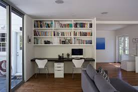 home offie 15 home offices designed for two people contemporist