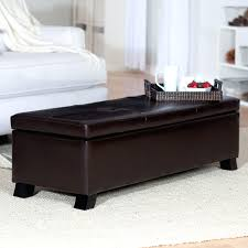 leather bench coffee table espressoleather benches modern