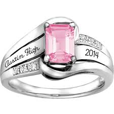 high school class jewelry keepsake girl s emerald fashion class ring walmart
