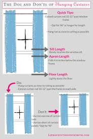 Curtain Rods 96 Inches Best 25 How To Hang Curtains Ideas On Pinterest Hanging Curtain