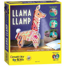 creativity for kids llama llamp craft kits
