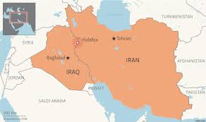 Iraq Province Map Iran Iraq Border Hit By Series Of Moderate Earthquakes
