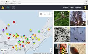 Uw Madison Campus Map Siftr Web Tool For Citizen Science Ethnography Teaching