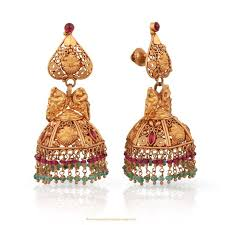 malabar earrings gold antique jhumka from malabar gold diamonds earrings
