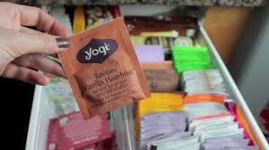 whats in my tea drawer youtube