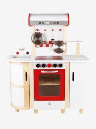 cuisine vertbaudet bois grande cuisinette en bois hape multicolore hape