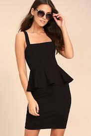 peplum dress black dress lbd peplum dress black peplum dress 54 00