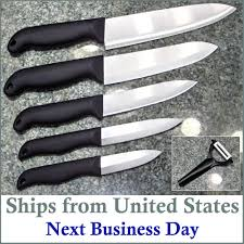 details about professional kitchen ceramic knives chef u0027s quality