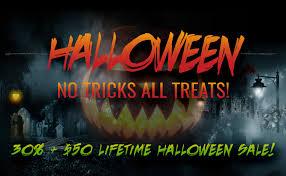 Halloween Sale No Tricks All Treats Halloween Sale U2022 Themify