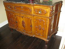 Marble Top Sideboards And Buffets French Country Antique Sideboards U0026 Buffets Ebay