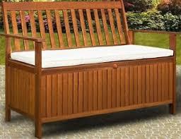 panchina in legno da esterno cassapanca panca baule box in legno per esterno giardino cucina