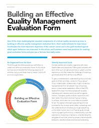 building an effective qm evaluation form wp 160727152513