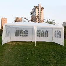 Bbq Canopy Walmart by Wedding Party Tent Outdoor 10 U0027x20 U0027 Easy Set Gazebo Bbq Canopy