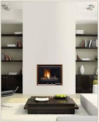 cheminee insert moderne cheminées pinterest salons gas