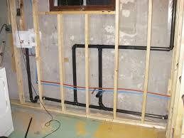 Plumbing Basement Bathroom Rough In How To Finish A Basement Bathroom Wiring Amp Plumbing Rough In