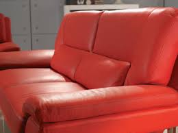 Red Sofa Furniture New York Modern Red Sofa Set