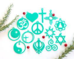 coexist ornaments etsy