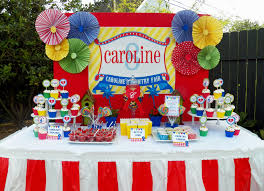 carnival birthday celebrations ideas decorating of