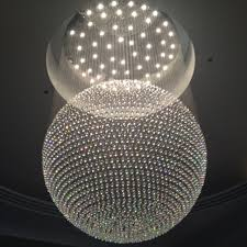 Sphere Chandelier With Crystals Terrific Sphere Chandelier In Find More Pendant Lights