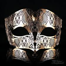 metal masquerade mask men metal masquerade mask m7156 beyond party supplies toys