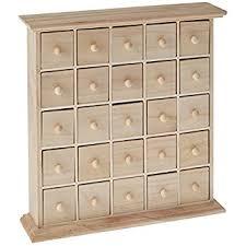 artemio wooden chest with 25 drawers beige co uk kitchen