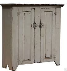 reproduction primitive jelly cupboard country farmhouse painted
