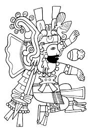 imagenes mayas para imprimir mayas aztecas e incas colorear para adultos justcolor