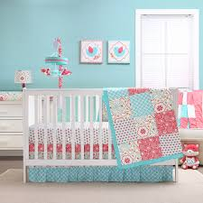 girls bedding horses baby crib bedding