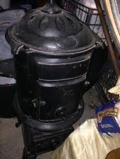 Comfort Pot Belly Stove Antique Pot Belly Stove Ebay