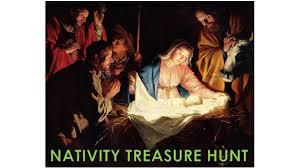 christmas treasure hunt nativity game