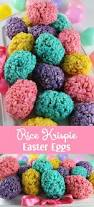 Easy Easter Decorations To Make At Home by Rice Krispie Easter Eggs Food Ideas Easter And Rice