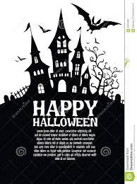 happy halloween vector halloween poster halloween vector background stock vector image