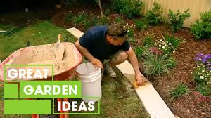 how to make great garden edging gardening great home ideas