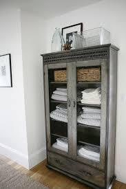 Bathroom Linen Shelves Impressive Best 25 Bathroom Linen Cabinet Ideas On Pinterest