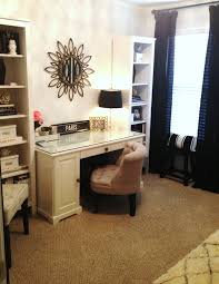 Rolling Office Chair Design Ideas Tiffanyd New Office Reveal Decor On A Budget Business