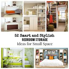 52 smart and stylish bedroom storage ideas for small space