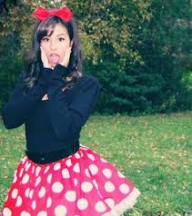 Minnie Mouse Halloween Costume Diy Aahh Excited 21st Disney Theme Mickey
