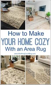 How To Make A Area Rug How To Make Your Home Cozy Using An Area Rug An Exclusive