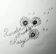 image result for dandelion butterfly designs