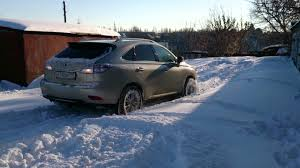 lexus rx400h best tires lexus 450h off road snow youtube