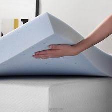 lucid lu40qq30gt 4 inch gel memory foam mattress topper queen