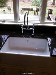 white sink black countertop installed sinks photos