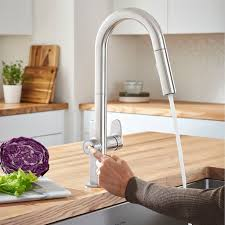 kitchen faucets touch beale measurefill touch kitchen faucet american standard