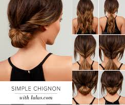 different hair buns 6 ideas for original girlish buns