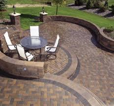 Patio Concrete Designs by Concrete Paver Patio Ideas Fascinating Concrete Patio Designs